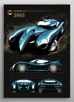 DC Comics 2005 | Batmobile History | Displate
