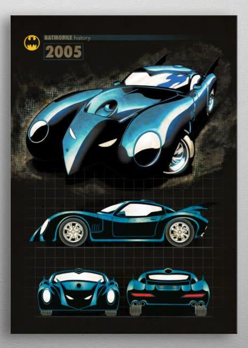 DC Comics 2005 |  Batmobile History