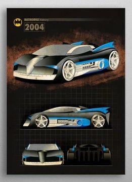 DC Comics 2004   Batmobile History   Displate