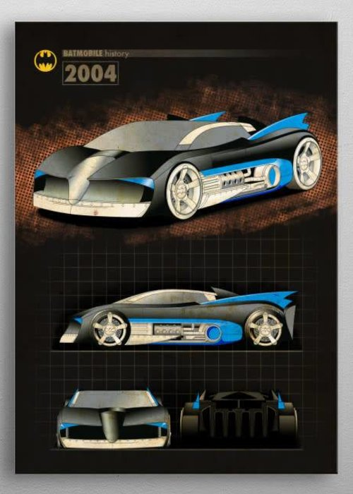 DC Comics 2004 |  Batmobile History