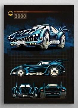 DC Comics 2000 | Batmobile History | Displate