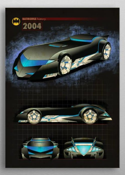 DC Comics 2004 version 2  |  Batmobile History