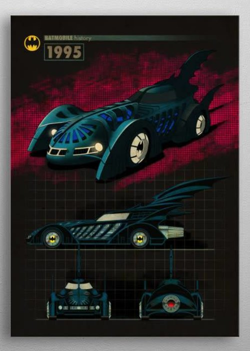 DC Comics 1995 |  Batmobile History