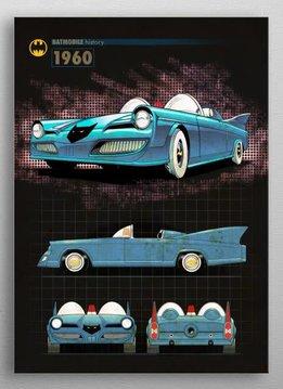 DC Comics 1960 | Batmobile History | Displate
