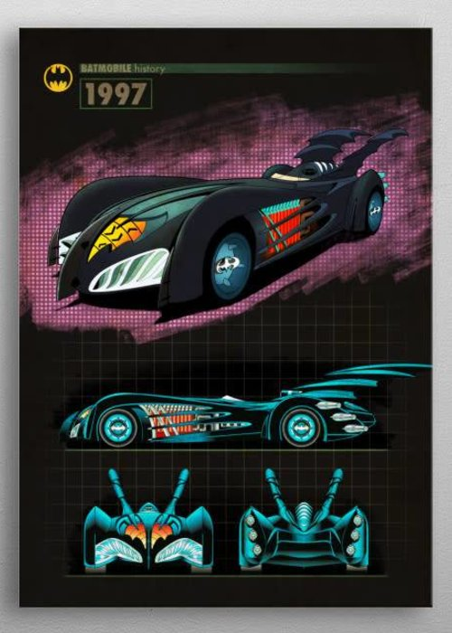 DC Comics 1997 |  Batmobile History