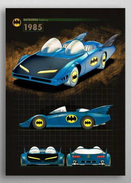 DC Comics 1985 |  Batmobile History
