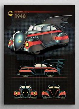 DC Comics 1940 | Batmobile History | Displate