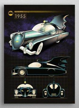 DC Comics 1955 | Batmobile History | Displate