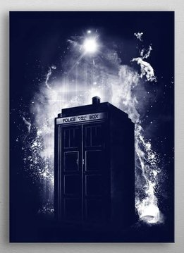 fanfreak Travel through time and space | Fandom | Displate