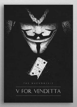 retina V for Vendetta   Classic Movie Posters   Displate