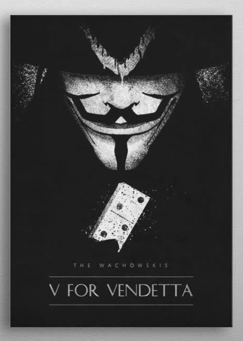 Retina Creative V for Vendetta  | Classic Movie Posters
