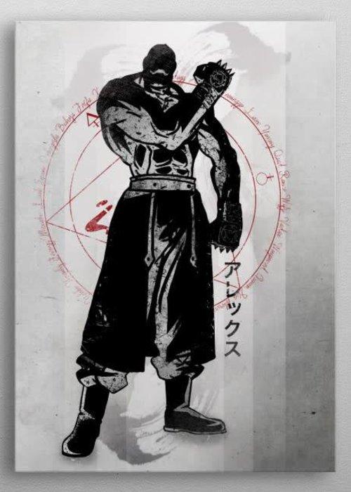 Fanfreak Crimson strong arm  | Crimson Characters