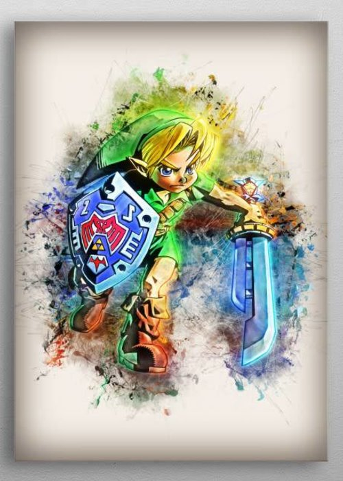 Nerdart Designs Link - Zelda | Rapture