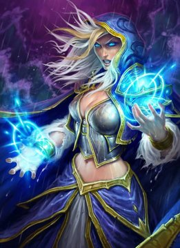 Blizzard Jaina Proudmoore | Hearthstone | Displate