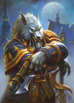 Blizzard Genn Greymane | Hearthstone | Displate