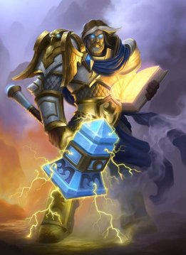 Blizzard Uther the Lightbringer | Hearthstone | Displate