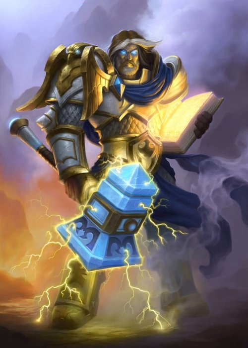 Blizzard Uther the Lightbringer  | Hearthstone