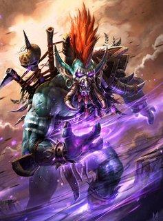 Blizzard Vol'jin | Hearthstone | Displate