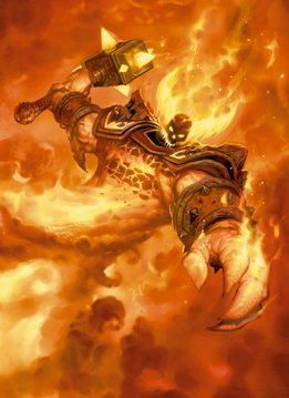 Blizzard Ragnaros the Firelord | Hearthstone | Displate