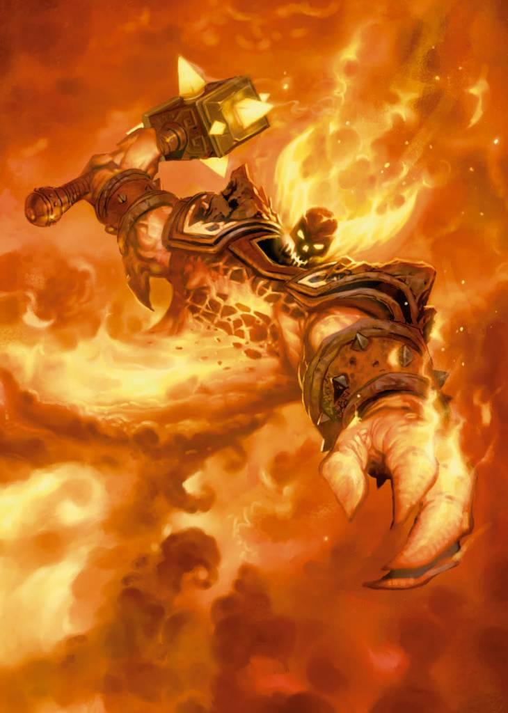 Blizzard Ragnaros the Firelord | Hearthstone | Displate