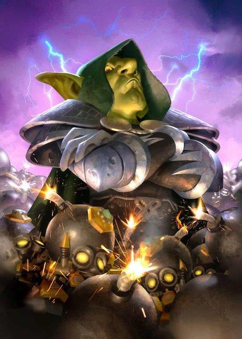 Blizzard Dr. Boom  | Hearthstone