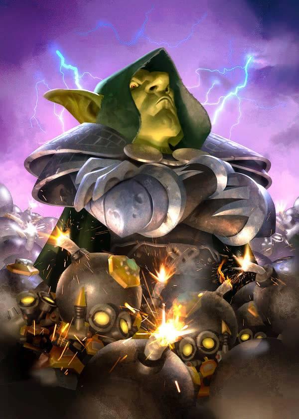 Blizzard Dr. Boom | Hearthstone | Displate