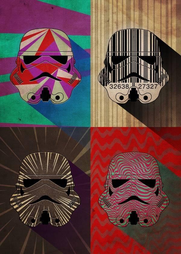 Star Wars Wave Squad - Pop Art Troopers - Displate