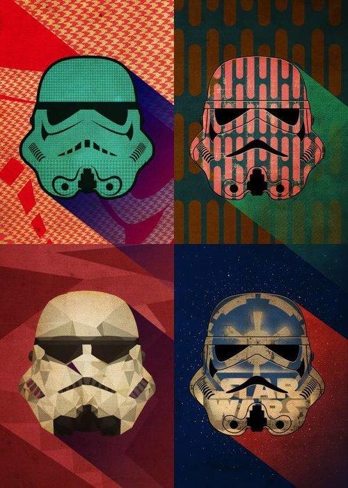 Star Wars Polygon Squad  |  Pop Art Troopers