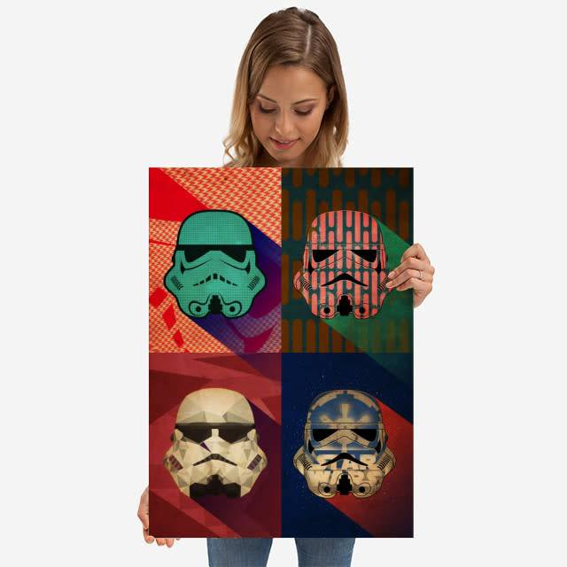 Star Wars Polygon Squad - Pop Art Troopers - Displate