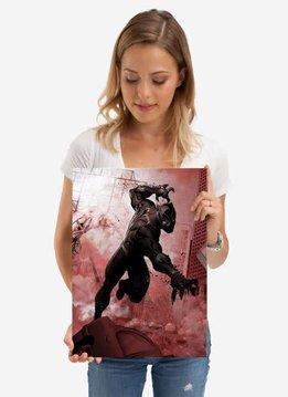 Displate Black Panther - Marvel Dark Edition - Displate