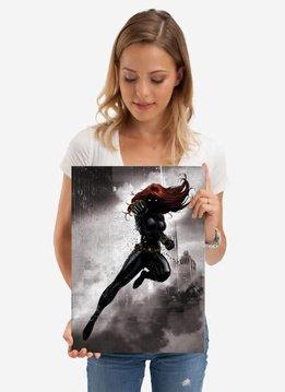 Displate Black Widow - Marvel Dark Edition - Displate