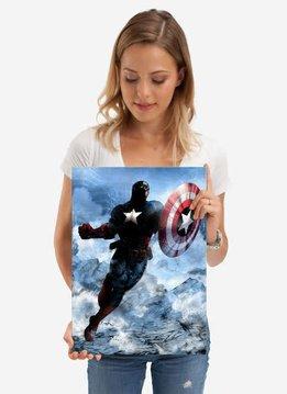 Displate Captain America - Marvel Dark Edition - Displate