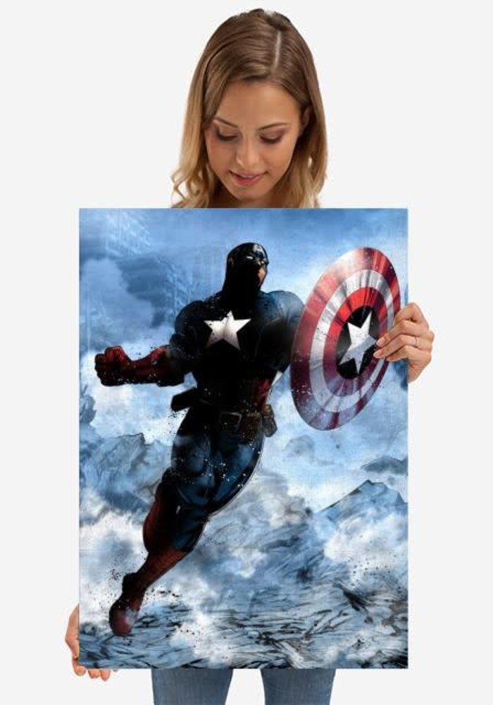 Captain America  |  Marvel Dark Edition
