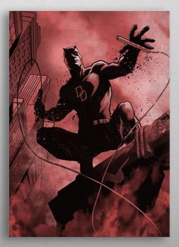 Displate Daredevil - Marvel Dark Edition - Displate