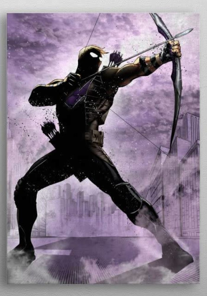 Hawkeye     Marvel Dark Edition