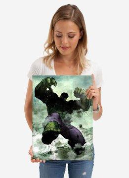 Displate Hulk - Marvel Dark Edition - Displate