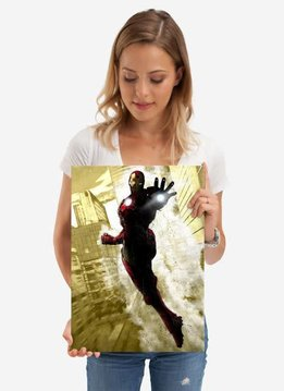 Displate Iron Man - Marvel Dark Edition - Displate