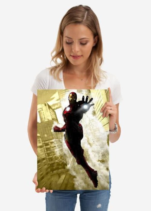Displate Iron Man  |  Marvel Dark Edition