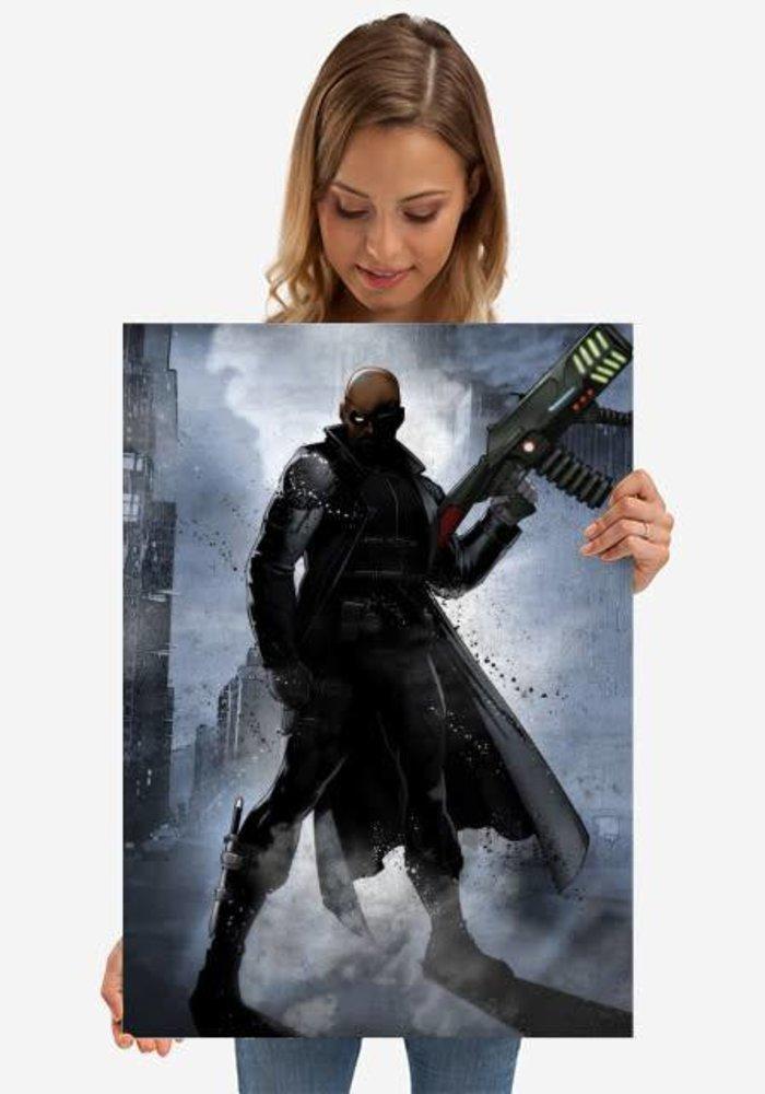 Nick Fury  |  Marvel Dark Edition