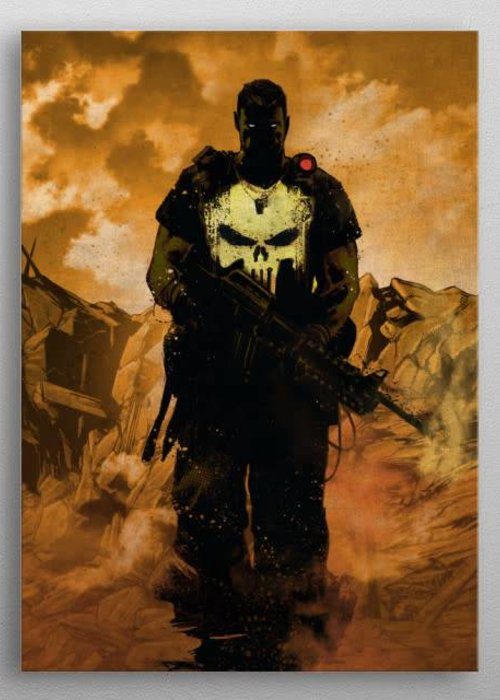 Marvel Punisher  |  Marvel Dark Edition