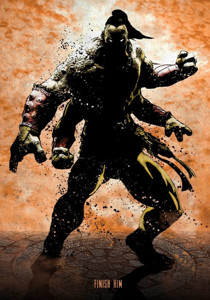 Goro Finish Him  |  Gaming Characters