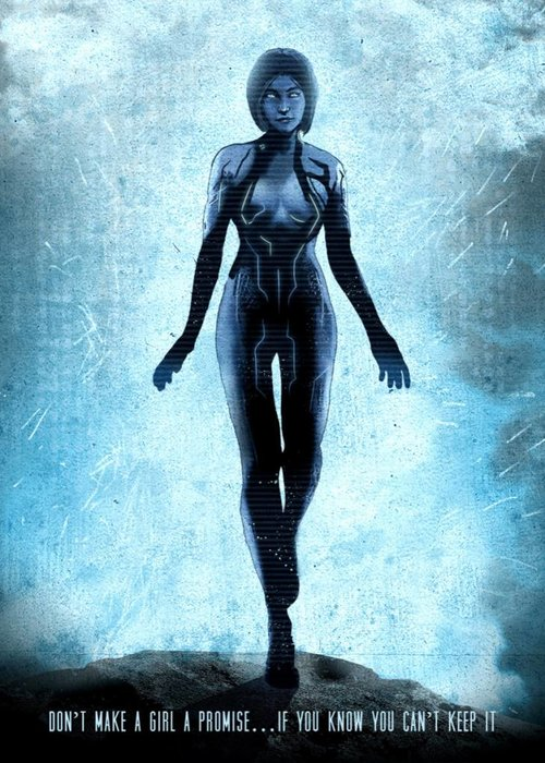 Eden Design Halo - Cortana | Gaming Characters