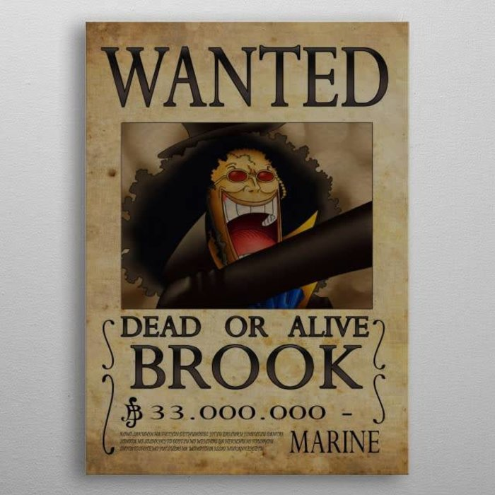 Brook Wanted !