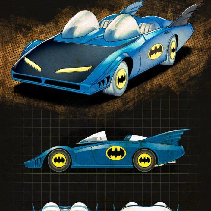 Batmobile History