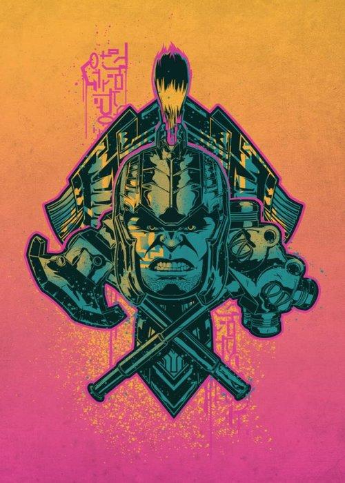 Marvel Hulk  | Thor Ragnarok Team Ragnarok