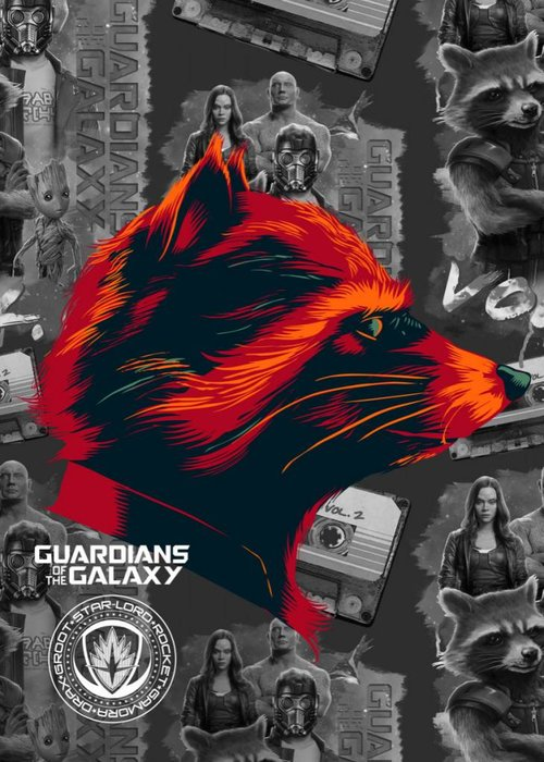 Marvel Rocket  | Guardians of the Galaxy