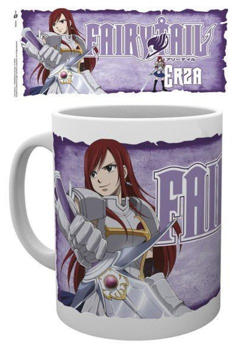Anime Fairy Tail Erza | Mok