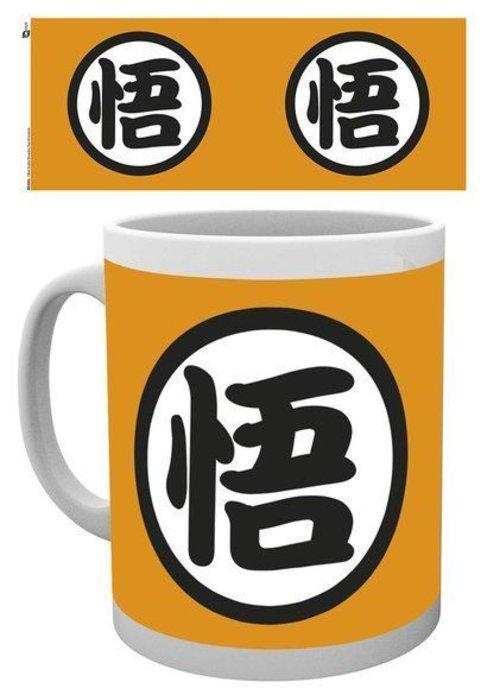Dragon Ball Z Dragon Ball Z Gokus Kanji | Tasse a cafe