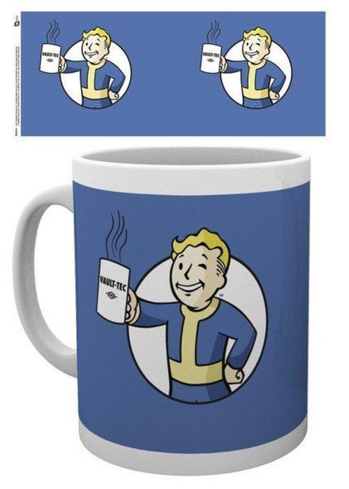 Fallout Fallout Vault Boy Holding Mug | Tasse a cafe