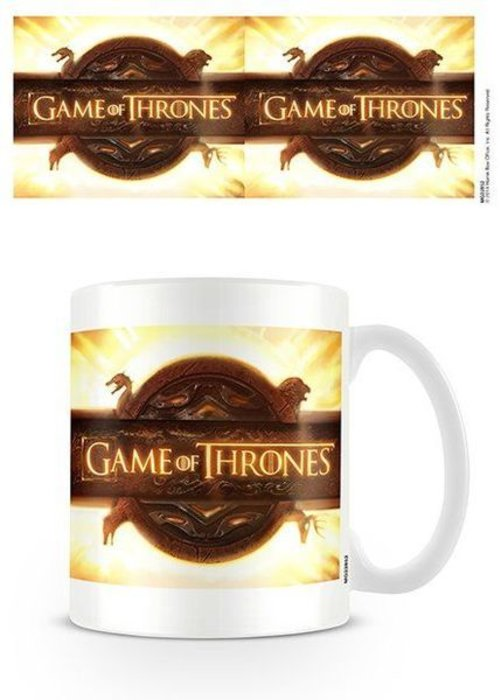 Game of Thrones Game Of Thrones Opening Logo | Tasse a cafe